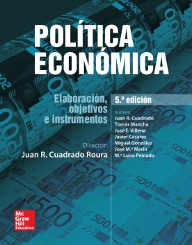 Imagen de apoyo de  Política económica: elaboración, objetivos e instrumentos /