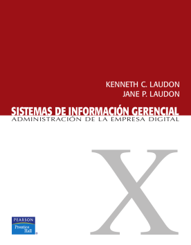 Sistemas de información gerencial: administración de la empresa digital /