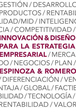 Innovación y diseño para la estrategia empresarial /