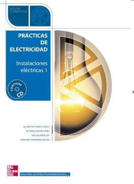 Imagen de apoyo de  Prácticas de electricidad: instalaciones eléctricas 1 /