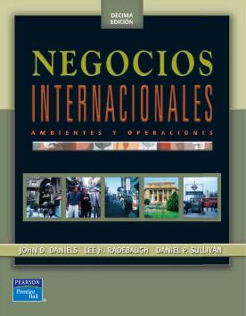 Imagen de apoyo de  Negocios internacionales: ambientes y operaciones /