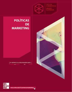 Imagen de apoyo de  Políticas de marketing /