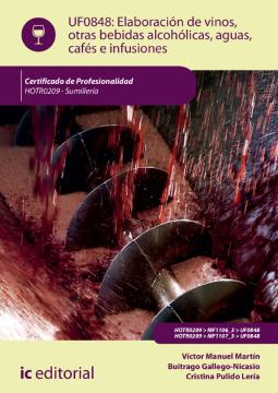 Imagen de apoyo de  UF0848: Elaboración de vinos, otras bebidas alcohólicas, aguas, cafés e infusiones /