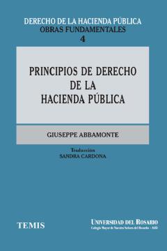Principios de derecho de la hacienda pública